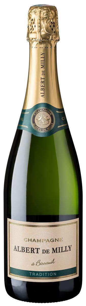 Champagne Albert de Milly Brut