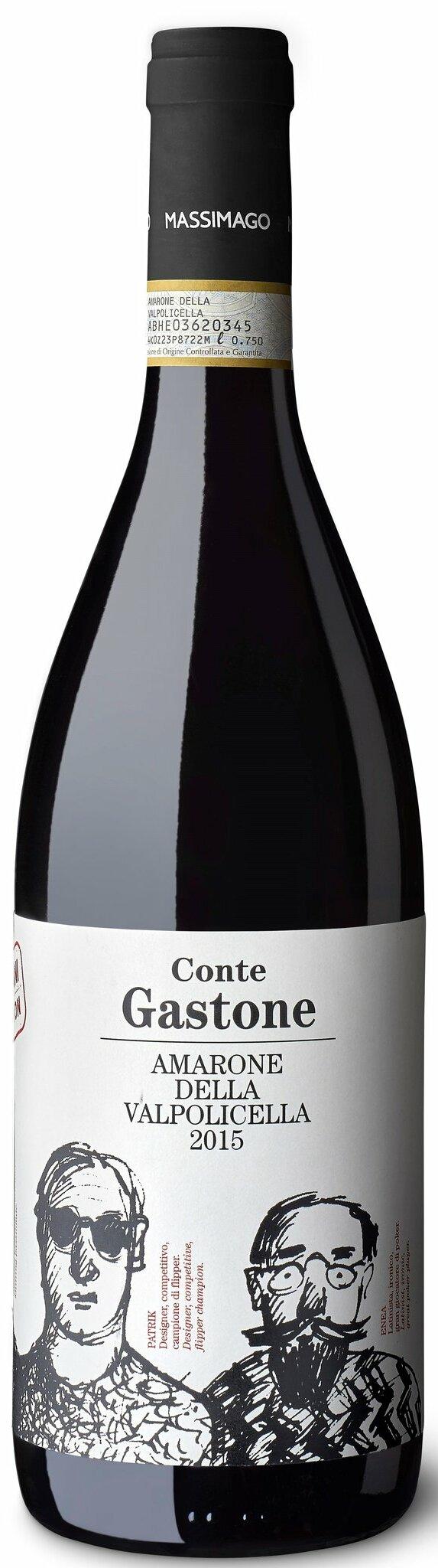 Amarone delle Valpolicella DOCG Massimago – Conte Gastone BIO