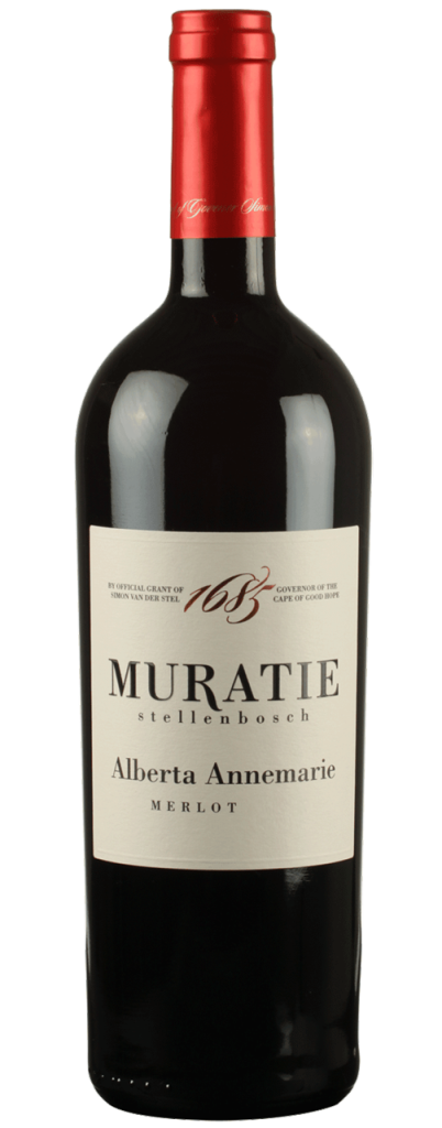 Muratie Premium Range – Alberta Annemarie – Merlot