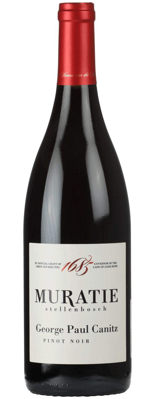 Muratie Premium Range – George Paul Canitz – Pinot Noir
