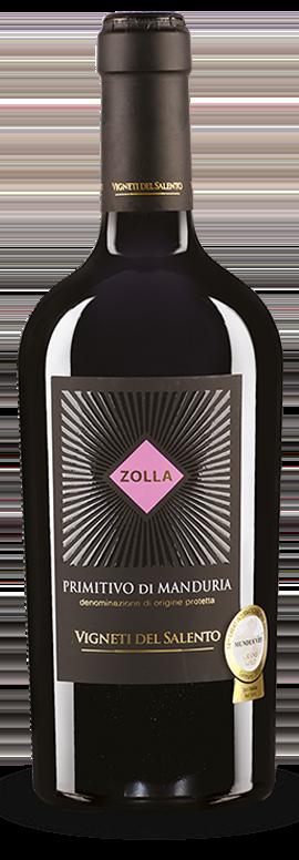 Zolla, Vigneti del Salento – Primitivo di Manduria DOC