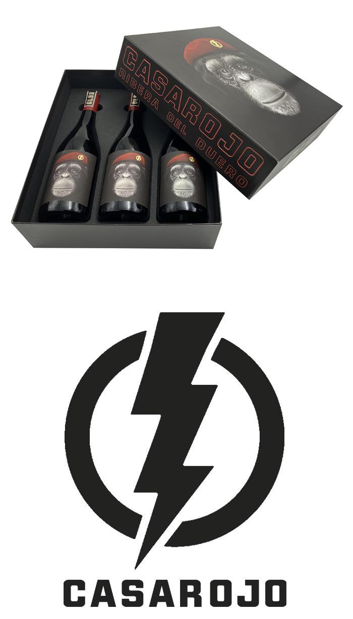 "Casa Rojo ""CL 98"" Giftbox 3 flessen"